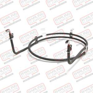 Fan Forced Element Dual Ring Short Neck 2300W Technika