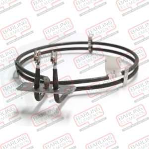 F/F Oven Elem. 2000w Ariston --EUROPEAN OVEN FAN FORCED ELEMENT 2200W 240V WITH BOLTS