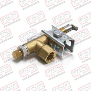 "Pilot-Single Flame Position Inc 1/4 "" nut & Olive -- M6-4"