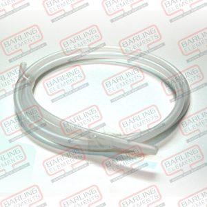 Tube Poly 1/4 Natural PER METER -- E3-1