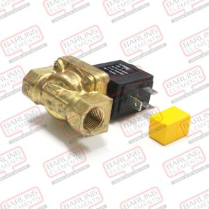 Brass Solenoid Valve 2 Ways 230VAC 3/8''