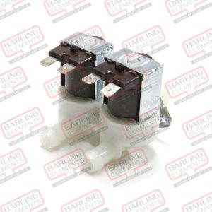 """Solenoid valve double straight 230V inlet 3/4"""" outlet 11,5mm DN10 EATON (INVENSYS) -- L2-1"""