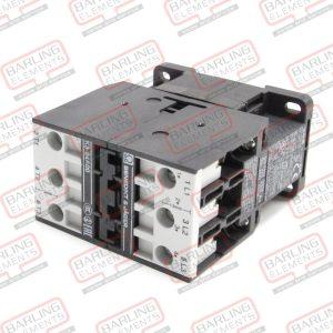 power contactor resistive load 50A 230VAC (AC3/400V) 24A/11kW main contacts 3NO - Suit SCC/CM -- S2-2