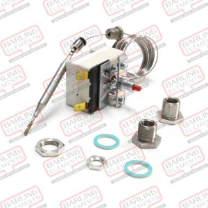 Thermostat Deep Fryer - Limit 238C Manual Reset, 1430mm Capilary, 77 x 6 Bulb (with Stuffing Gland) Moffat, OEM, Woodson -- L3-5