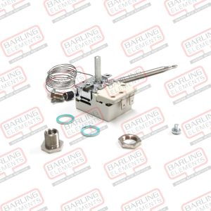 Thermostat 30-120 C - 16A, Used in Urns. 870mm Capilary. 102 x 6 bulb Single contact (with Stuffing Gland -- L4-6