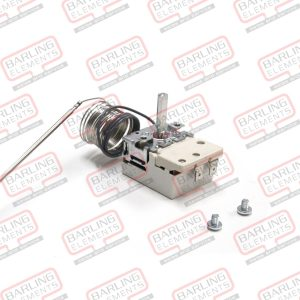 Thermostat 50-320 C - 16A, Used in Ovens. 1470mm Capilary. 160 x 3.1 bulb Single contact