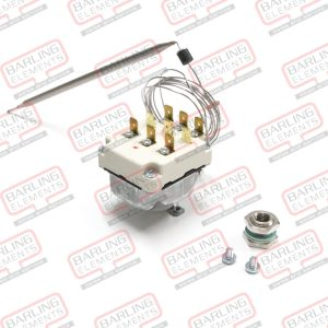Thermostat - 3 starge 82/90/90 860mm Capilary legnth 1480 Bulb size 173 x 6mm - 3 pole fixed temp for each pole (washtec)
