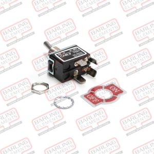TOGGLE 2P ST ON/OFF -- SWITCH TOGGLE DPST 20A 250V ON