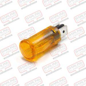 Pilot Light - Amber 12.7mm (was Red)