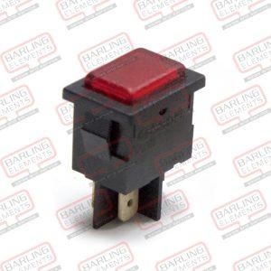 "Pilot Light - Red, 13 x 19mm ""Safety Tilt Indicator"""