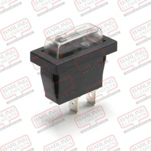 Rocker Switch - On/Off, 25.6 x 10.15mm Including Silicone cover