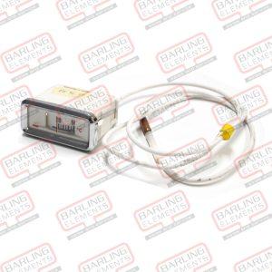 Temp dial - thermometer mounting Îè 52mm t.max. 120C 0 up to +120C probe Îè 6mm probe L 60m5