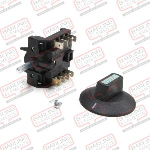 Rotary Switch - MAIN ON/OFF - 2 position 4 Pole Double Bridged