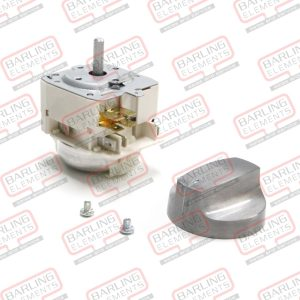6-Minute Electrical Timer (Invensys) and Aluminium Knob