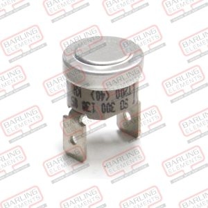 """Limit Thermostat - 130?C Disc - 1/2"""" NT1 Body - Self Hold Auto Reset"""