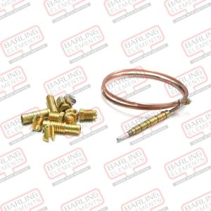 UT600 -- 600mm Thermocouple (universal install kit supplied) -- U3-6